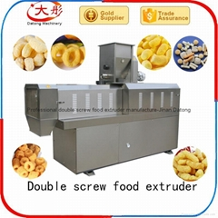 Cheese ball snacks food extruder
