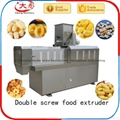Corn snacks food extruder