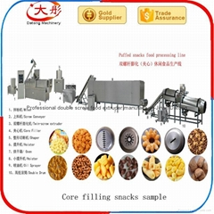 Core filling food making machine
