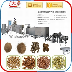 Pet food pellet producti