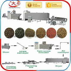 Bird food processing line
