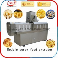 Puffed  snacks production line
