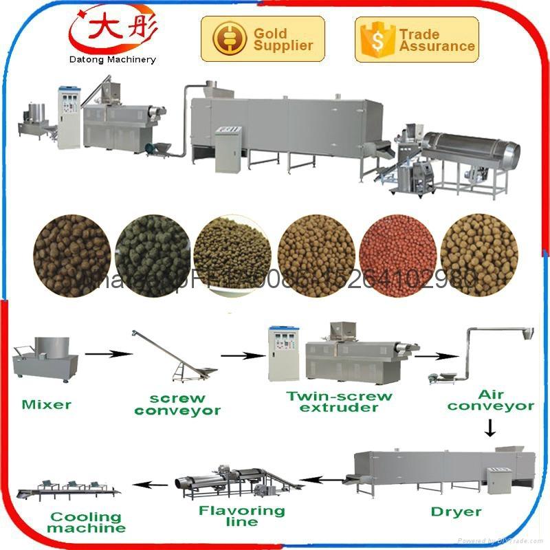 Fish Food Pellet Extruder plant 3