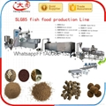 Aquarium floating fish feed processing machine