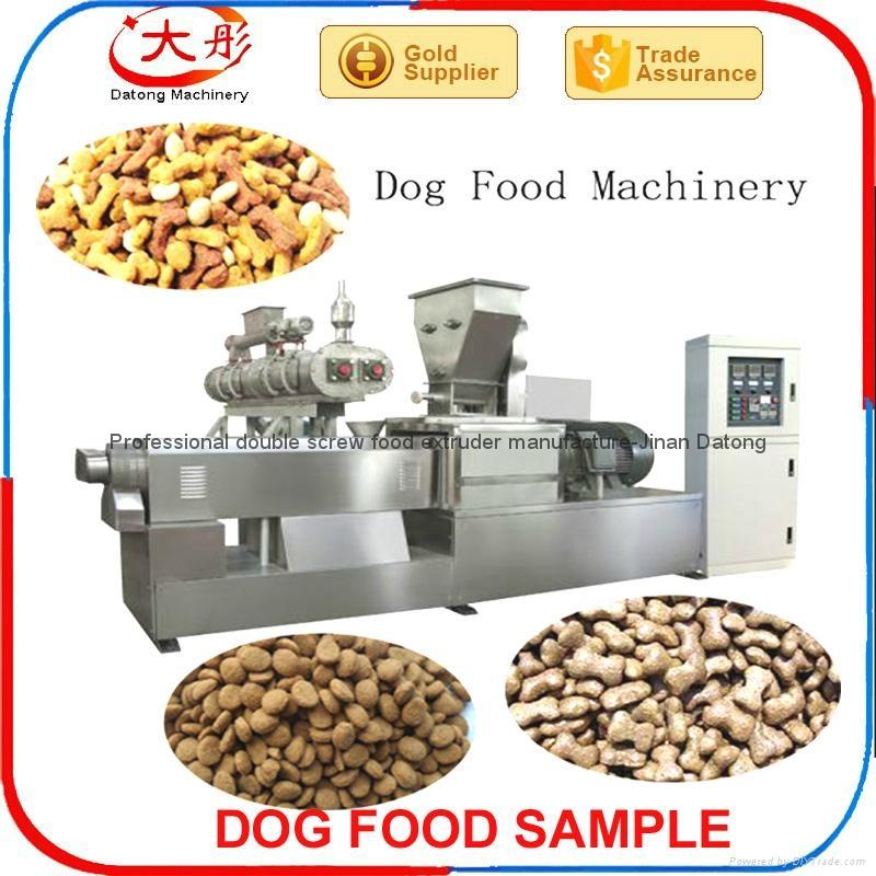 500kg/h 宠物食品生产线 4