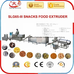 Corn snacks food  extruder plant