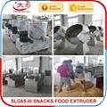Puffed corn Snacks food making  line machine 15