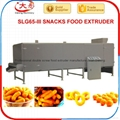 Twin screw extruder prices corn chips food making puff snack foodpellet machine 4