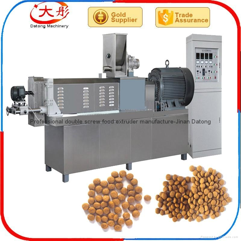 Floating Tilapia feed making machine 1