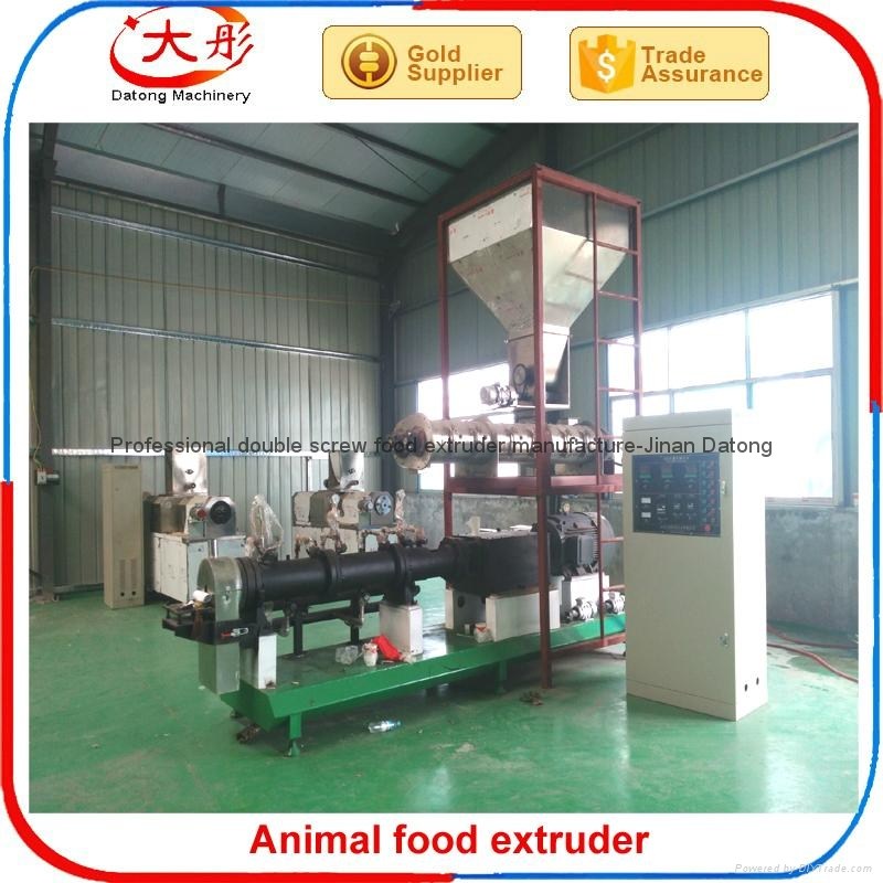 Floating Tilapia feed making machine 8