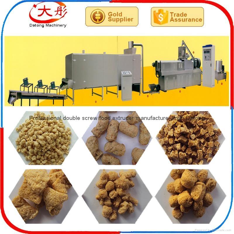 膨化大豆蛋白食品加工設備 2