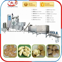 Automatic Industrial Soya Meat Machine/Textured Protein Machine