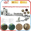 Floating Fish feed pellet Processing