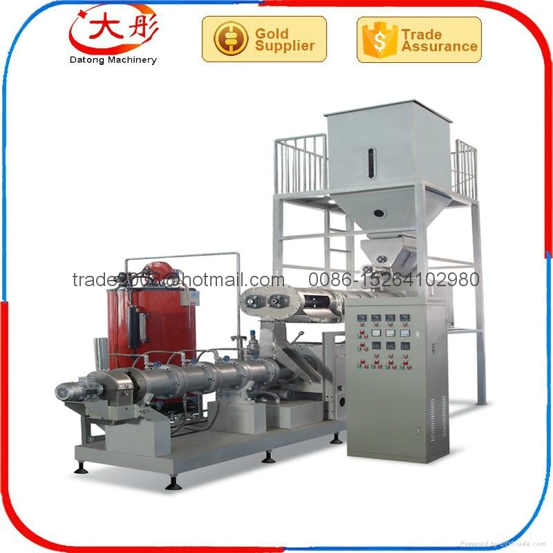 Floating Fish feed pellet Processing  extruder Machine  2