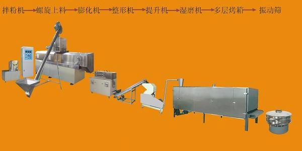 膨化面包片生产线 4