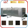 Floating fish food pellet extruder machine