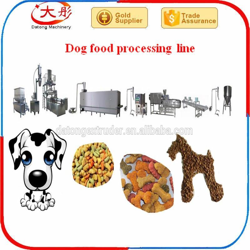 Pet food pellet processing machine 2