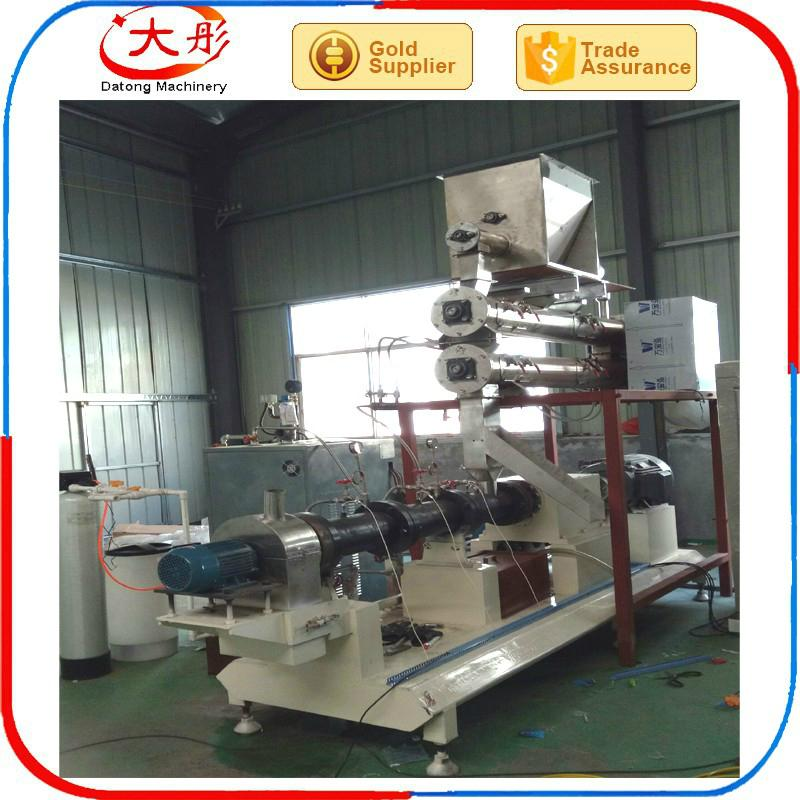 Pet food pellet processing machine 7