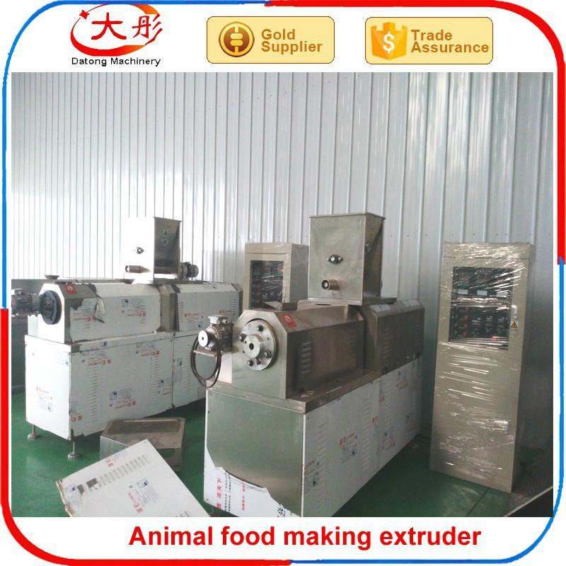 Pet food pellet processing machine 9