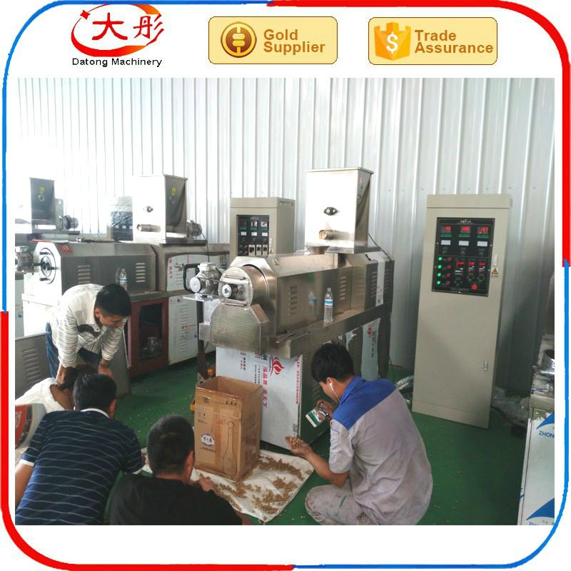 Pet food pellet processing machine 10