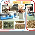 pet Dog cat feed pellet processing making extruder machine plant equipment