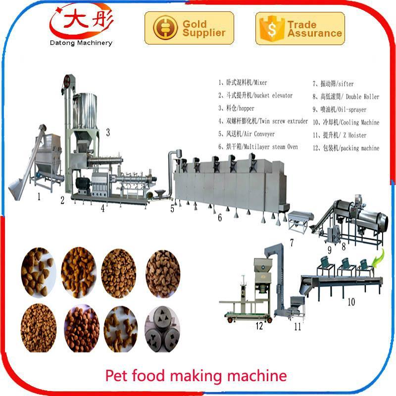 Pet dog food pellet processing machine 3