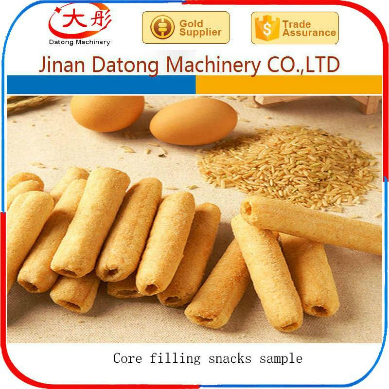 Core Filling Snack Food extruder Machine equipment 4