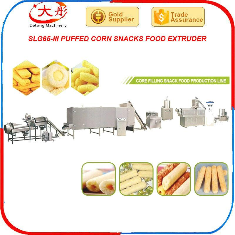 Core Filling Snack Food extruder Machine equipment 7