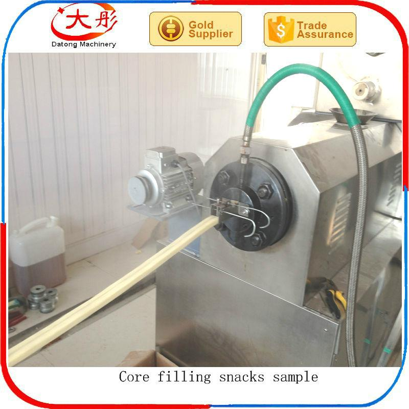 Core Filling Snack Food extruder Machine equipment 6