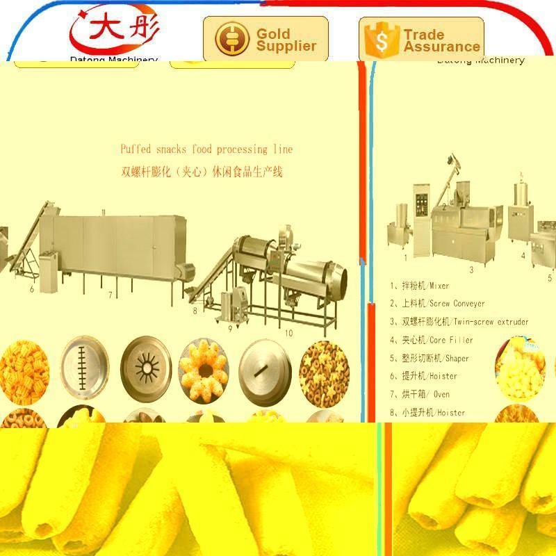 Core Filling Snack Food extruder Machine equipment - SLG65-III