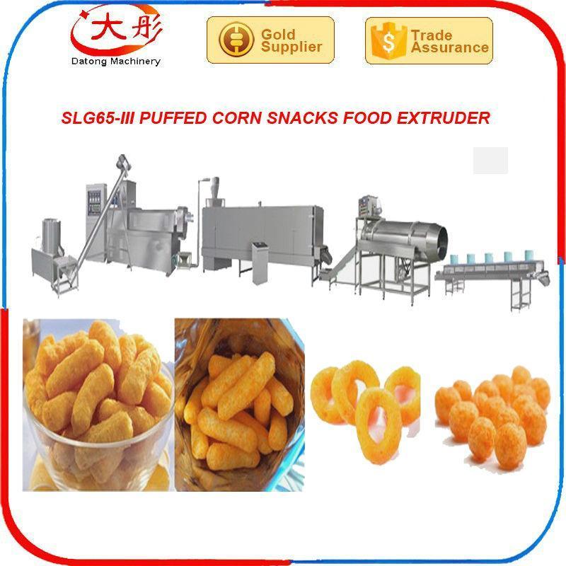 automatic snack bar extruder food machine snack machine food processing machine 5