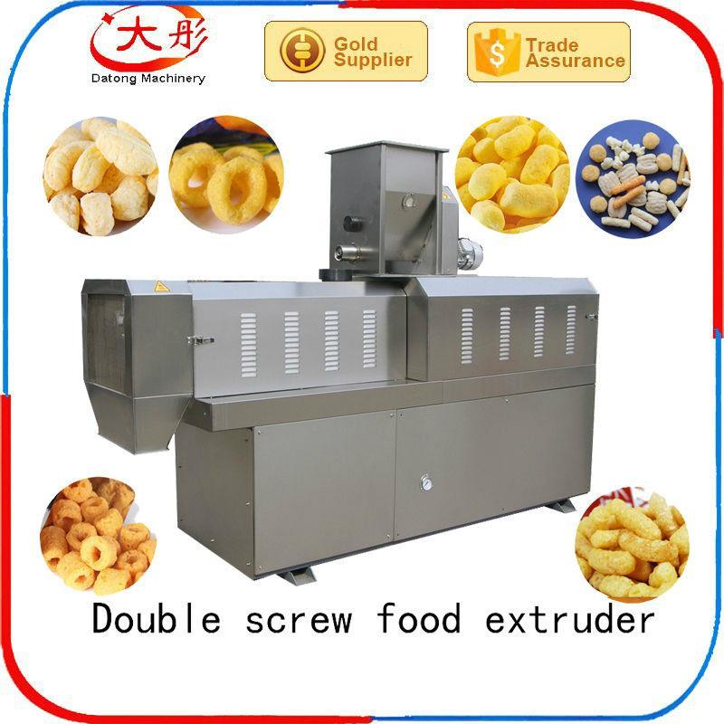 automatic snack bar extruder food machine snack machine food processing machine 7