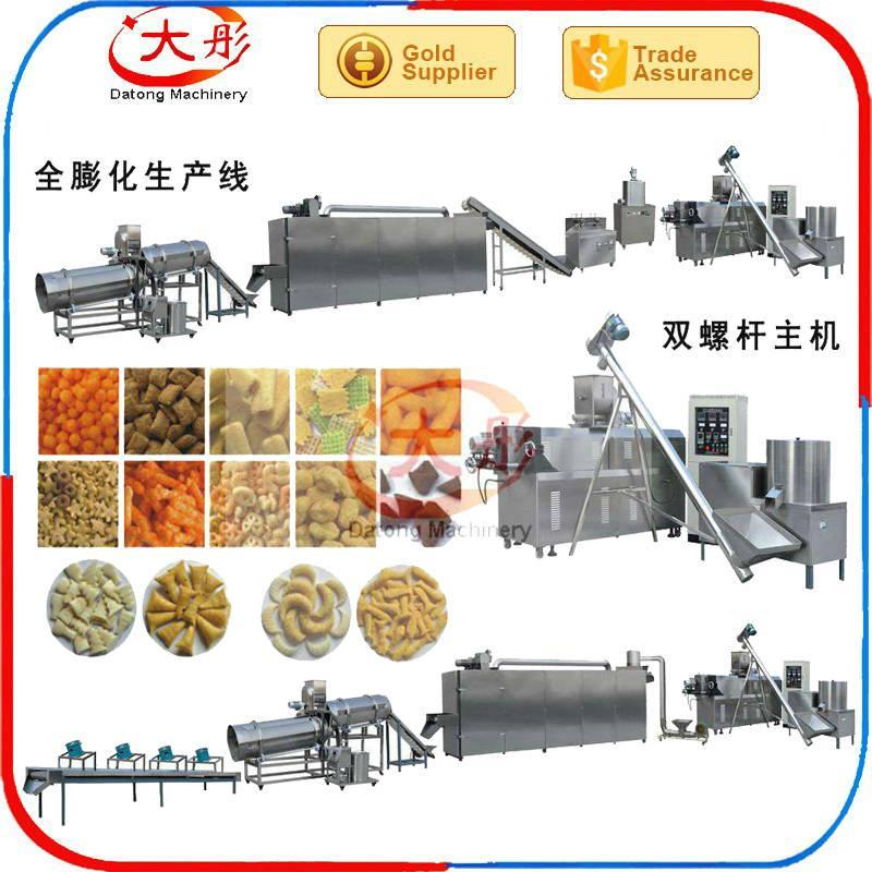 automatic snack bar extruder food machine snack machine food processing machine 10