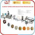 Puffed  corn snacks production line