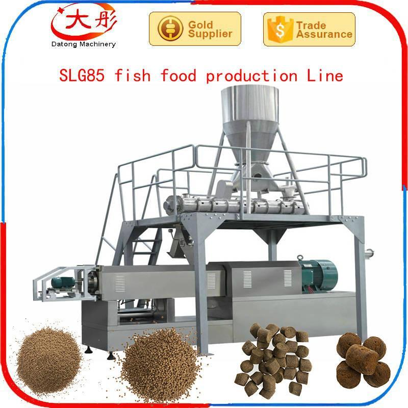 Single screw fish food extruder 7