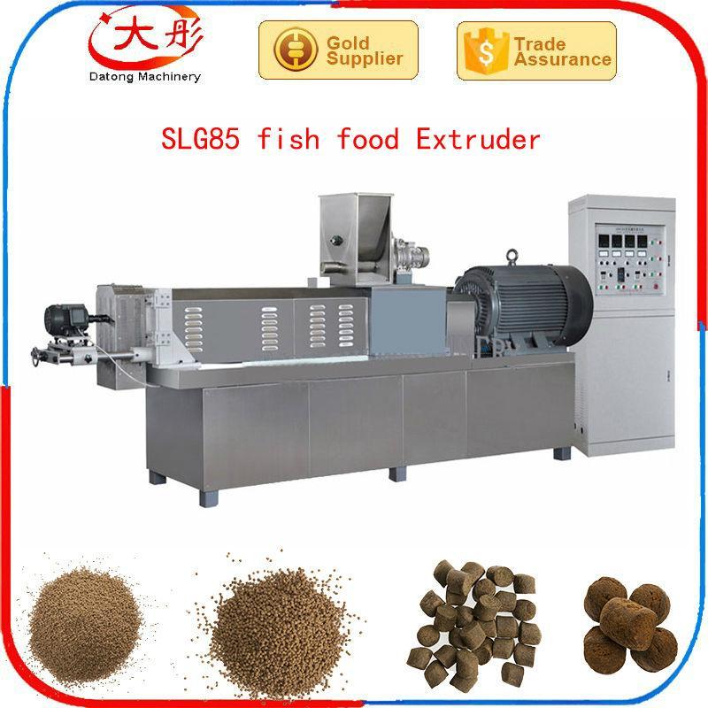 Single screw fish food extruder 8