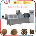 Single screw fish food extruder