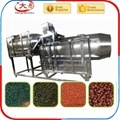 Single screw fish food extruder