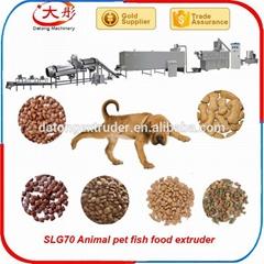 Dog feed pellting making