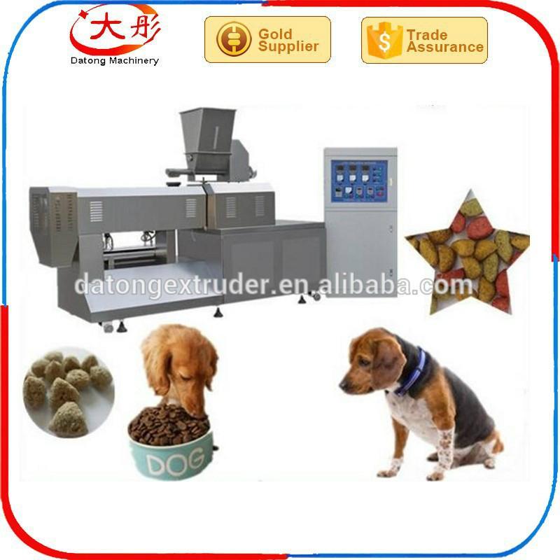 Pet dog feed extruder line 1
