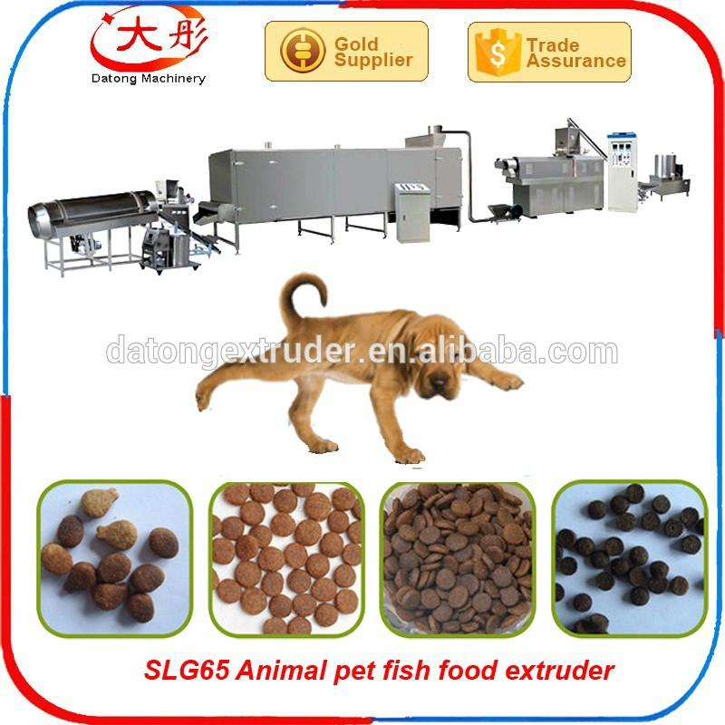 Pet dog feed extruder line 9
