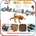 Dog cat feed making machine