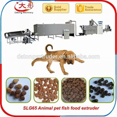 Pet food extruder machin