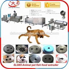 Pet food pelleting  mach