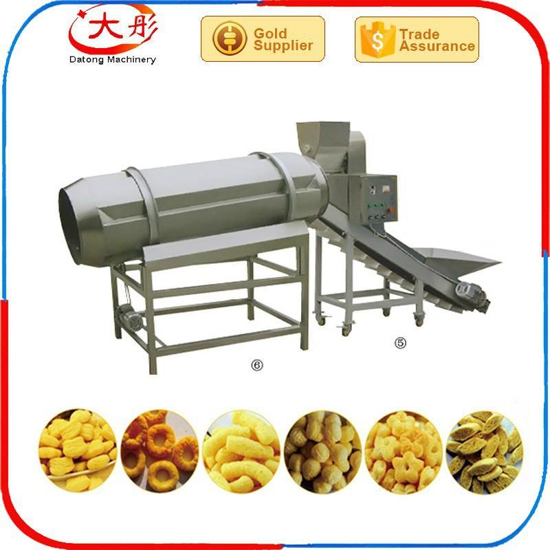 膨化玉米休闲食品生产设备 10