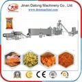 Corn curls extruder machine / Corn snacks food making machine / Food extruder