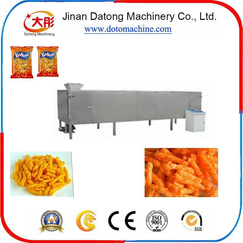 膨化玉米捲曲食品加工設備 1