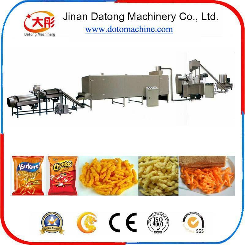 膨化玉米卷曲食品加工设备 6