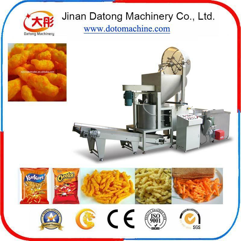 膨化玉米捲曲食品加工設備 8