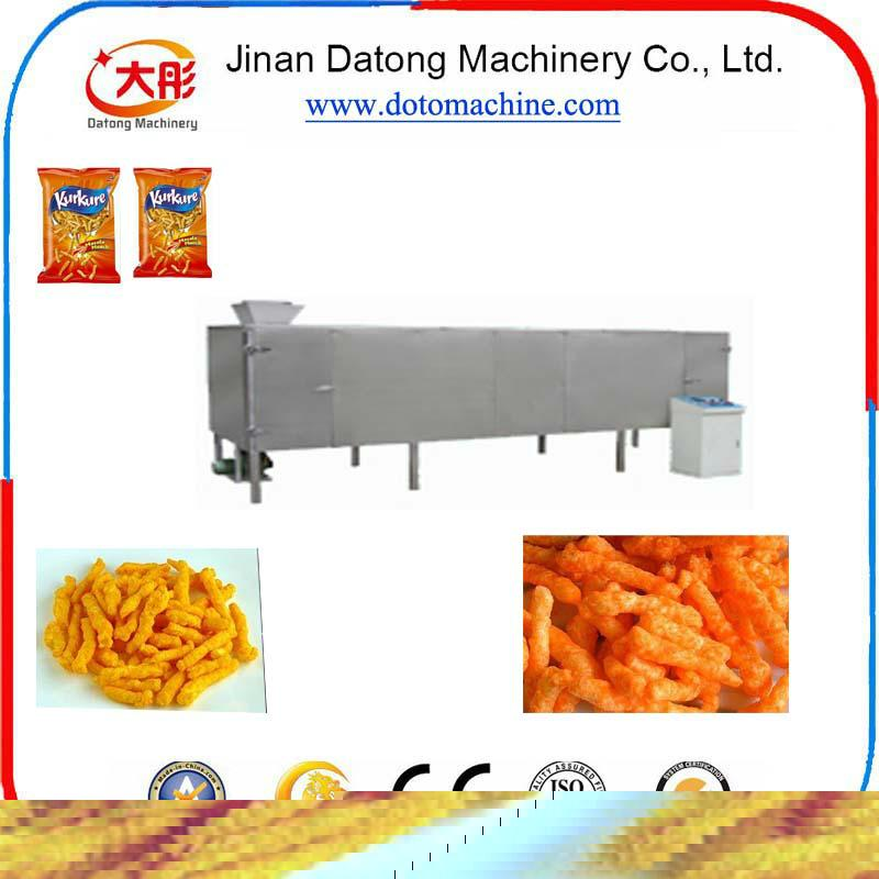 膨化玉米捲曲食品加工設備 2